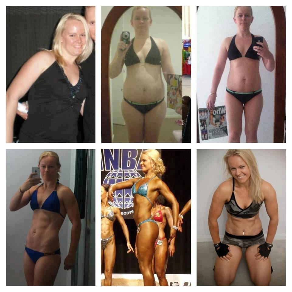 Before and After Weight Loss From Weightlifting  POPSUGAR